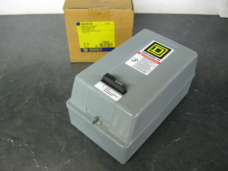 Square D Type 1 Enclosure for 8536-SA, SB, SC Size 00, 0, 1 Motor Starters