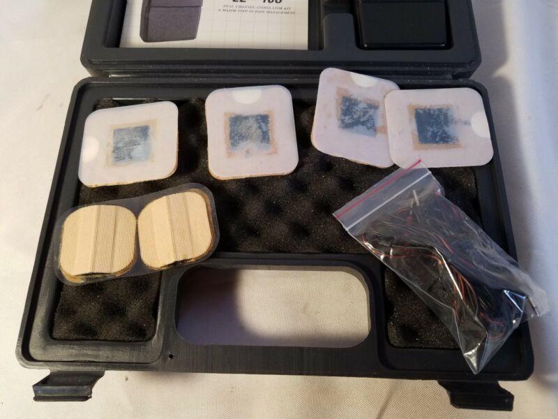 AVIONIX Medical Devices TENS Electric Muscle Stimulator EZ-10S Case Electrodes
