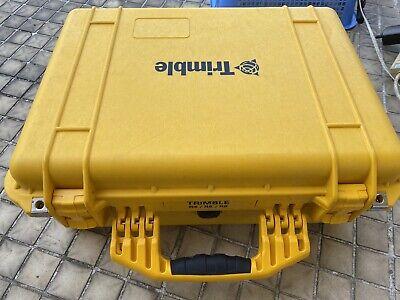 Original Trimble Pelican Yellow Rugged Case For R8 Gnss R6 R4 5800 Survey Rover