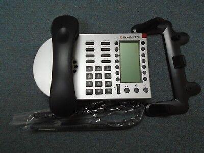 Shoretel Shorephone Model Ip 212k Voip Display Telephone W Handset Stand B