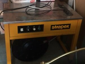 Strapex wraping machine