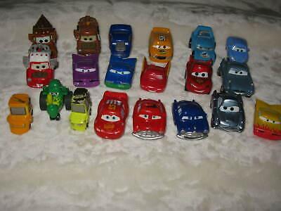 Mixed LOT of 20+ Disney Pixar Cars Movie Diecast & Plastic Vehicle Toys