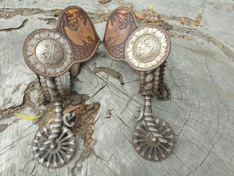 Double mounted California Spurs excellent condition