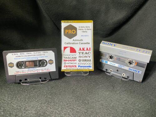 6.3kHz 8kHz 10kHz 12.5kHz 15kHz Azimuth Calibration Test Tone Tape Cassette