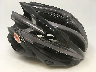 NEW BELL VOLT Gloss Black & Carbon Helmet SM Small 51cm-55cm NEW IN BOX