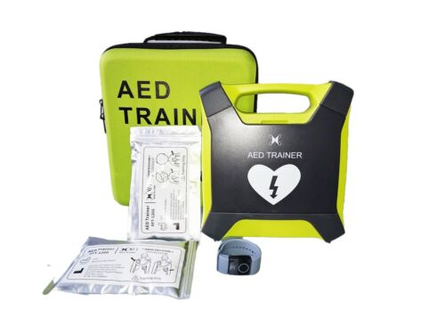 AED Trainer With CPR Feedback Built-in 4 languages With CPR Wristband French
