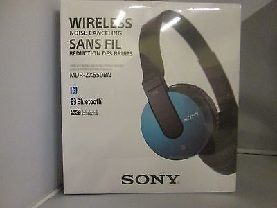 Sony MDR-ZX550BN Over-Ear Noise Cancelling Bluetooth Headpho