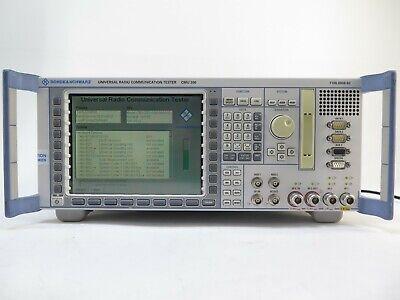 Rohde Schwarz Cmu200 Universal Radio Communication Tester 1100.0008.02 W Opts