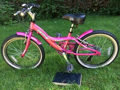 Girls Bicycle / Bike Jamis Capri 20 inch wheels Pink (recommended age 6 to 9)