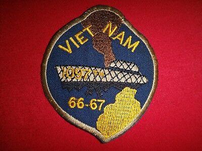US 1097th TRANSPORTATION Company COMPOSITE WATERCRAFT 1966-67, Vietnam War Patch