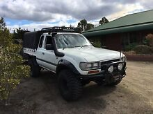 1990 turbo diesel 80 series Toyota Land Cruiser extra cab. Sorell Sorell Area Preview