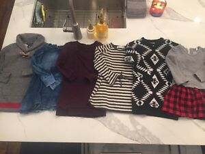 Girl Sweater dresses lot size 4