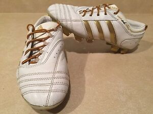 Girls Adidas adiPure Outdoor Soccer Cleats Size 5