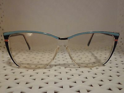 High Fashion Optical 630-4 Vintage 80's Womens Eyeglasses  (TF11 @