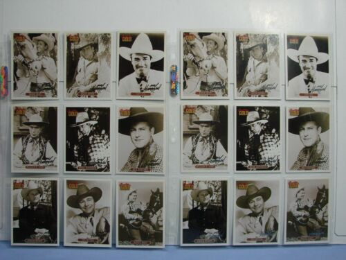18 Cards 1991 CMA Country Gold Series 2 Max Harrison Insert Sets Gold & Silver