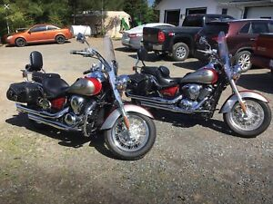 Two Kawasaki 900 Vulcans for Sale