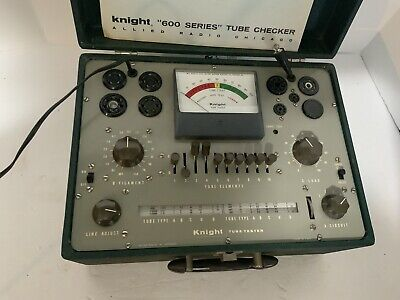 Allied Radio Knight 600a Emissions Tube Tester