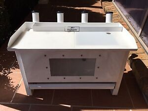 Baitmate Boat bait board live bait tank 4 rod holders  as new Kearns Campbelltown Area Preview
