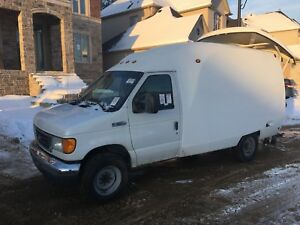 WORK VAN!!! 06 FORD E350 only 168000kms call 905-966-3756