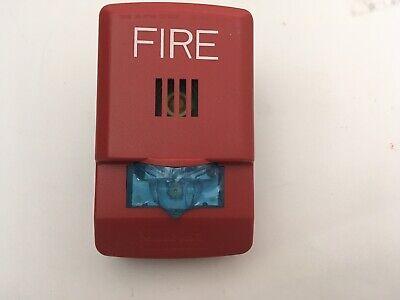 Nib New Wheelock Lhsr Fire Alarm Led Hornstrobe Wall Red