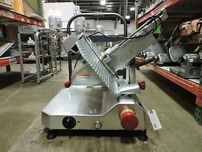 Berkel 829am Commercial Manual Gravity Feed Meat Slicer