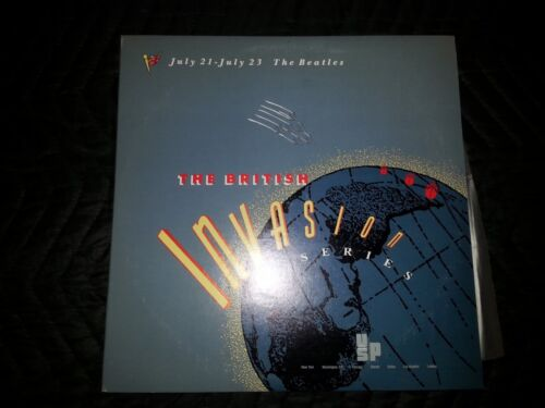 1989 Beatles British Invasion Series Radio Show 2LP