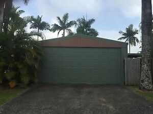 6x6m aluminium garage with automatic roller door Kewarra Beach Cairns City Preview