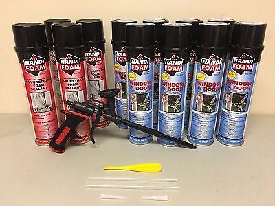Handi Foam - Low Expansion - 8 Window Door 4 Gap 24oz - Pro Gun - Great Stuff