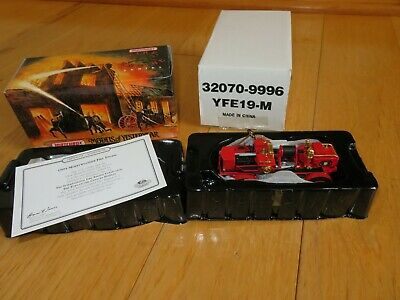 MERRY WEATHER FIRE TRUCK Matchbox Collectibles Die Cast New in box yfe19-m Fire Truck Collectibles