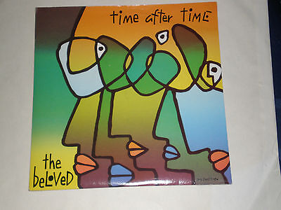 """THE BELOVED - TIME AFTER TIME - 1990 WEA LABEL PIC. SLEEVE 7"""" SINGLE - EXC."""
