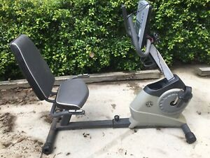Exercise Bike with Built In Fan