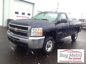2009 Chevrolet Silverado 2500 Work Truck Long Box 2WD