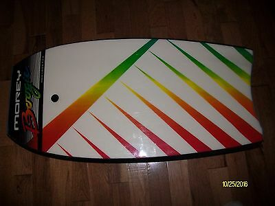 MOREY Mach 9TR TUBE RAIL BODYBOARD BOOGIE BOARD WITH STRAP Please see pictures.