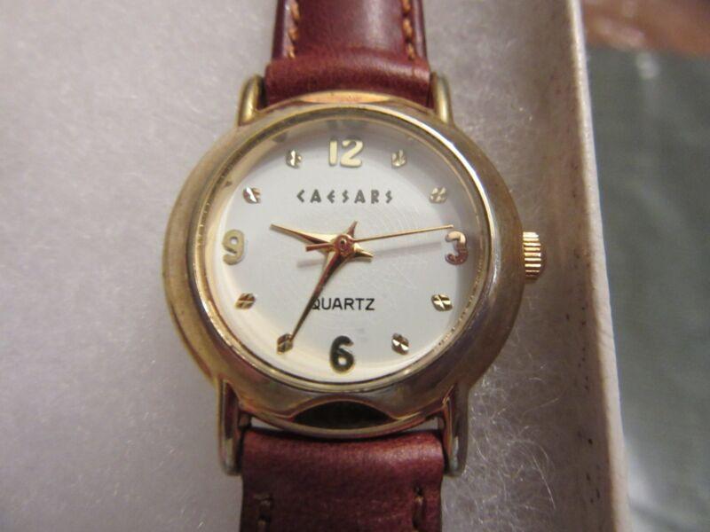 CAESARS CASINO LADIES Quartz WATCH - Unused with fresh battery