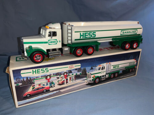 1990 Hess Toy Tanker Truck MINT IN BOX