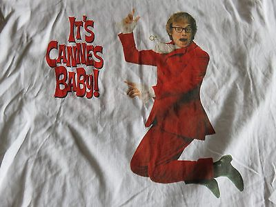 - 1999 AUSTIN POWERS Mike Myers THE SPY WHO SHAGGED ME (XL) Shirt It's CANES Baby