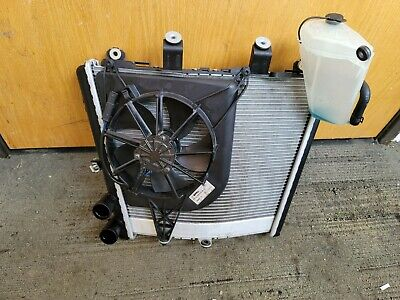 20-21 BMW S1000RR S 1000 RR Complete RADIATOR Engine Cooling Fan OEM silver MINT