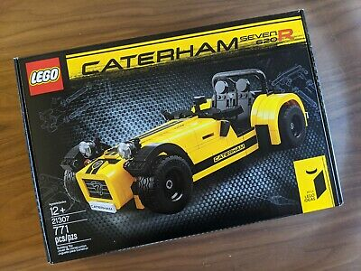 "LEGO Ideas Caterham Seven 620R 21307 — ""New, Retired Set"""