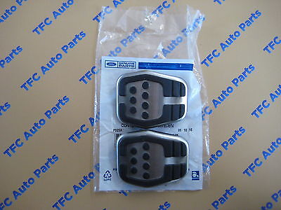 - Ford Focus Pedal Pad Clutch Or Brake Aluminum and Rubber OEM New Set of 2