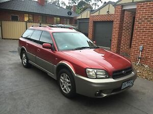 2001 Subaru Outback Wagon, with rego, great condition Glenroy Moreland Area Preview