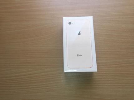 Brand New Sealed Apple iPhone 8 Gold 64GB Unlocked!