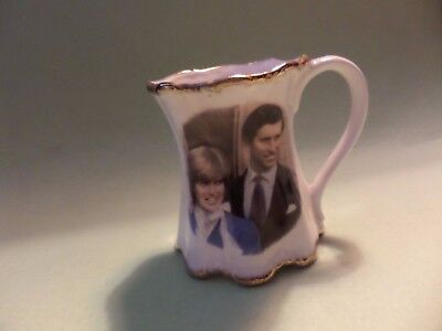 Charles &Diana Marriage Mug. Hand made in Staffordshire for Char