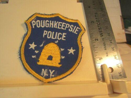 Poughkeepsie Police NY New York vintage uniform takeoff bee hive logo patch