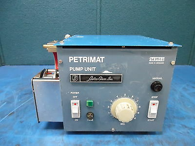 Bellco Glass Struers Petrimat Pump Unit Mn 270482 11560vhz 80aw