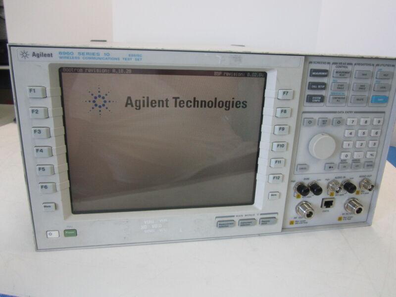 Agilent 8960 Series 10 E551C Wireless Communications Test Set Opt. 002 003 UK6