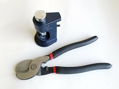 Large Gauge Hammer Crimper 10 To 8 Gauge Wire Crimper H.d. 9 Cable Cutter