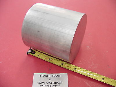 3-12 Aluminum 6061 Round Rod 3.5 Long T6511 3.5 Diameter New Lathe Bar Stock