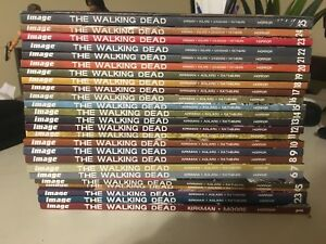 The Walking Dead volumes 1-25