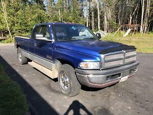1996 Dodge Ram 2500, 2wd, Cummins, Original Rust Free Body