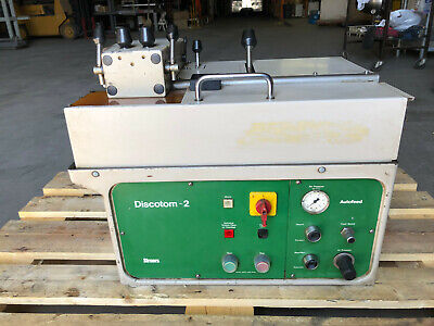 Struers Discotom-2 Tabletop Precision Metallurgical Programmable Cut Off Machine